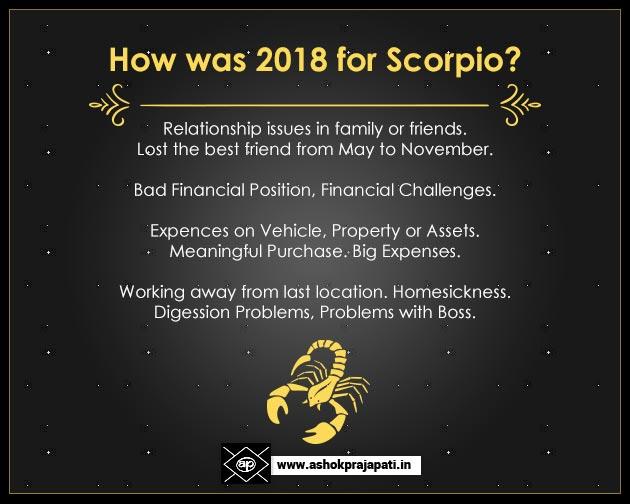 How was 2018 Scorpio
