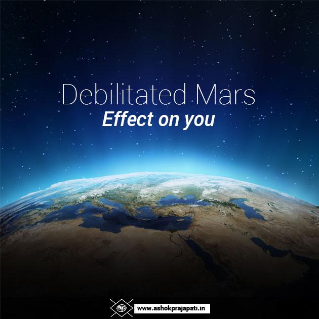 Debilitated Mars Predictions | Horoscope Reading & Predictions